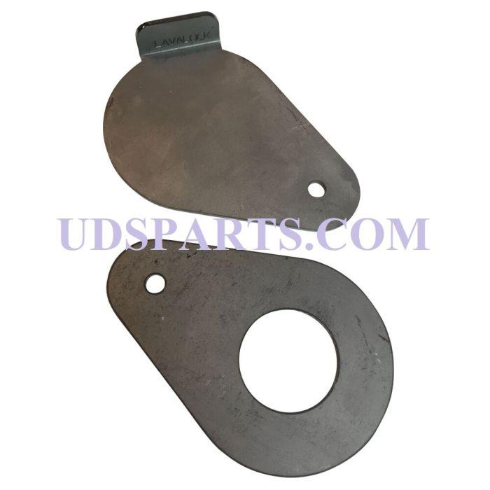 1-1/2 inch diameter Tear Drop damper blade set (BLADES ONLY)