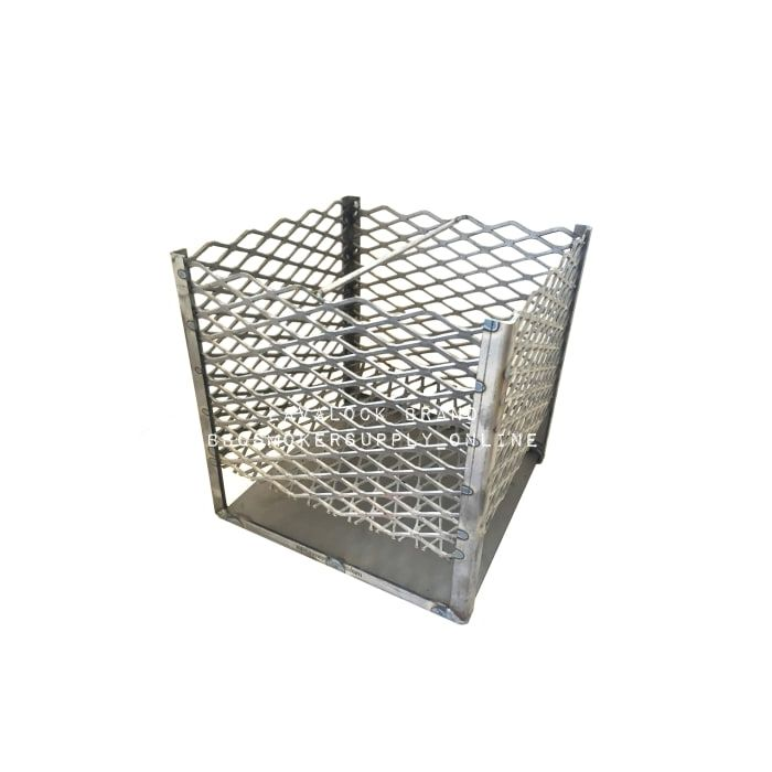 12 x 12 X 12 Charcoal Basket with legs and ash pan