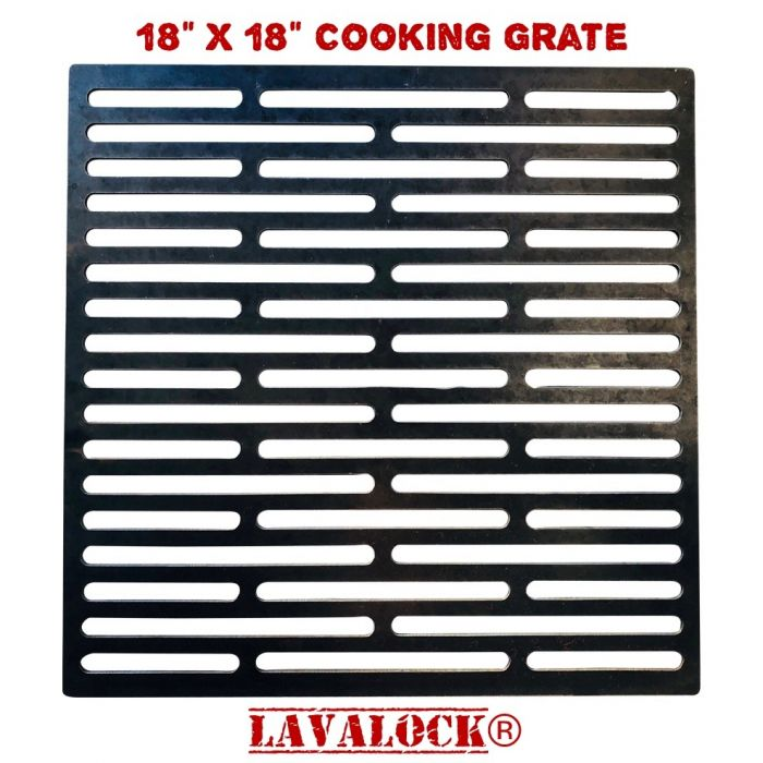 LavaLock® 18x18 Square Smoker cooking grate