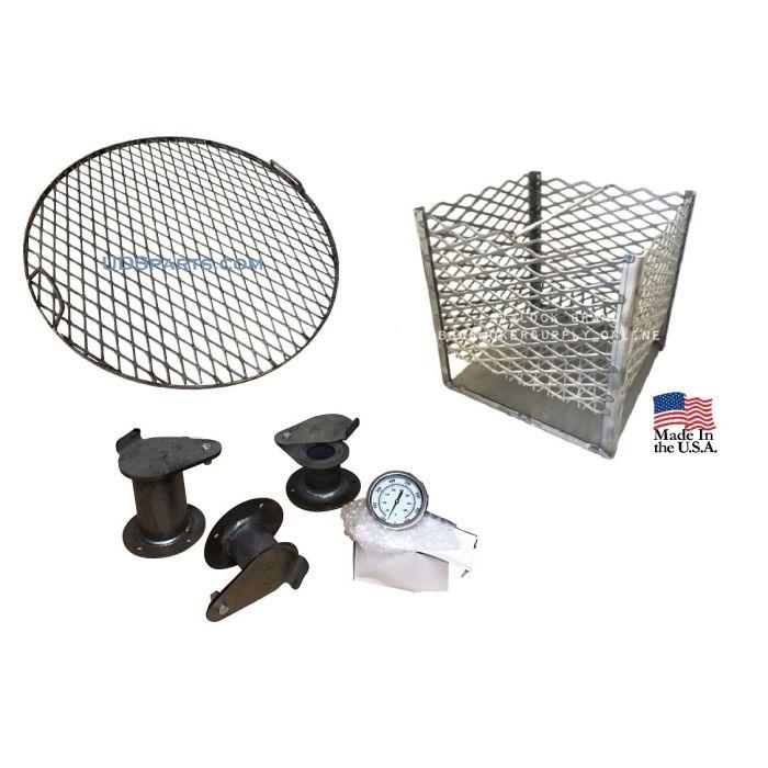 UDS Ugly Drum Smoker Parts kit, screw, rivet, or weld together