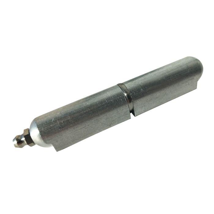 4 in ALUMINUM weld on Bullet hinge with zerk - ALUM