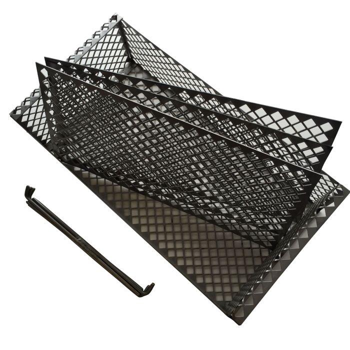 The BBQ Basket (stainless or mild steel) Hunsaker vertical meat hanging basket