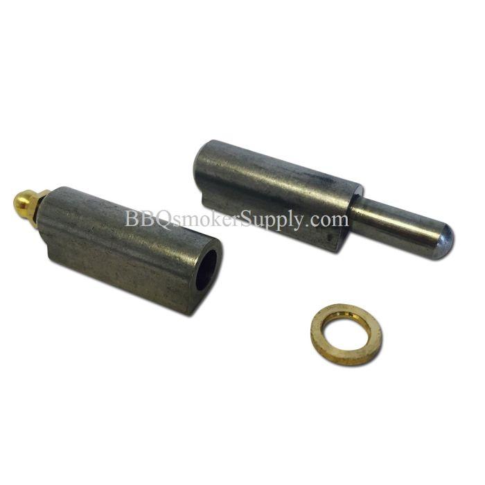 3 inch Bullet Weld-On Smoker Door Hinge