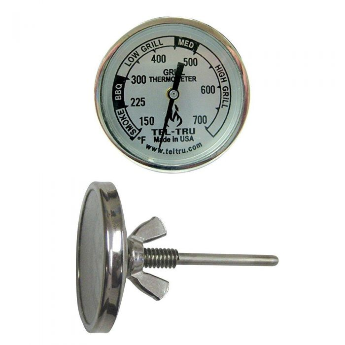 Tel-TruⓇ BQ225 Patio Grill Gas & Charcoal Replacement Thermometer 2