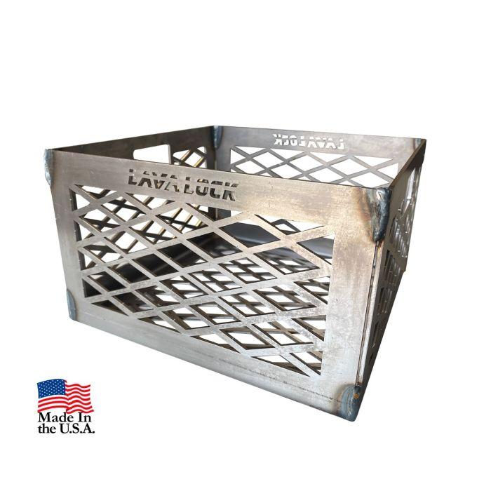 10 x 10 x 6 Coal Basket (no feet or ash pan)