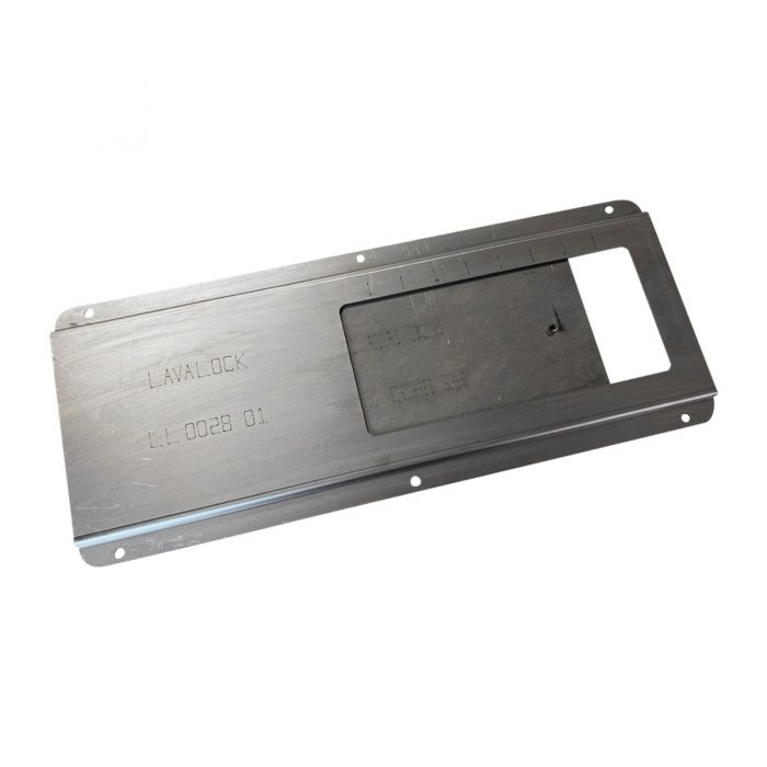 4 x 8 Fire Box Air Inlet Slide Damper Kit