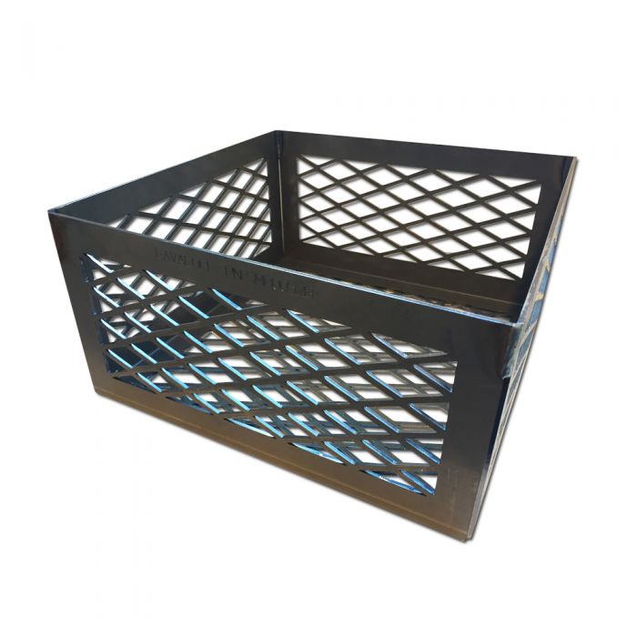 LavaLock® 12 x 12 x 6 Super PREMIUM EXPANDED Charcoal Basket