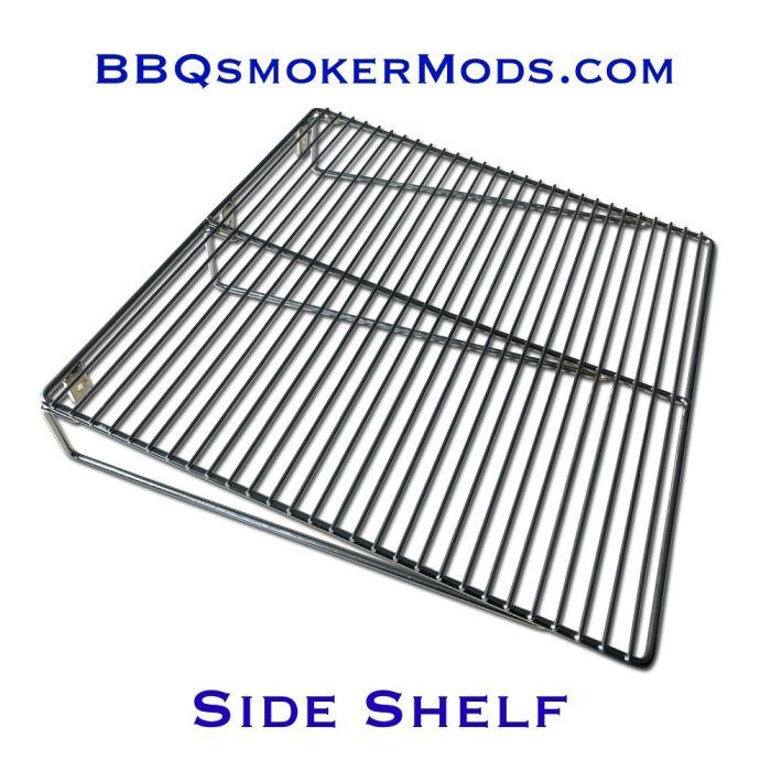 LavaLock® Wire BBQ Smoker Pit Side Shelf 18 x 18