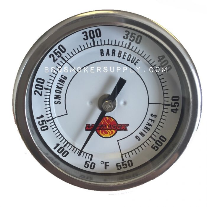 3 inch dial Adjustable BBQ Thermometer (2.5