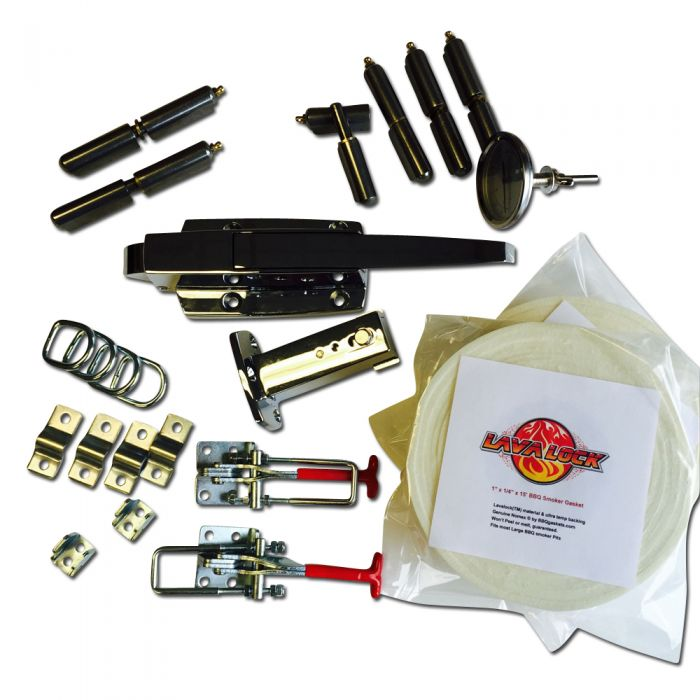 Complete KIT K-58 LRG Slam Latch Gravity Insulated Cabinet Parts
