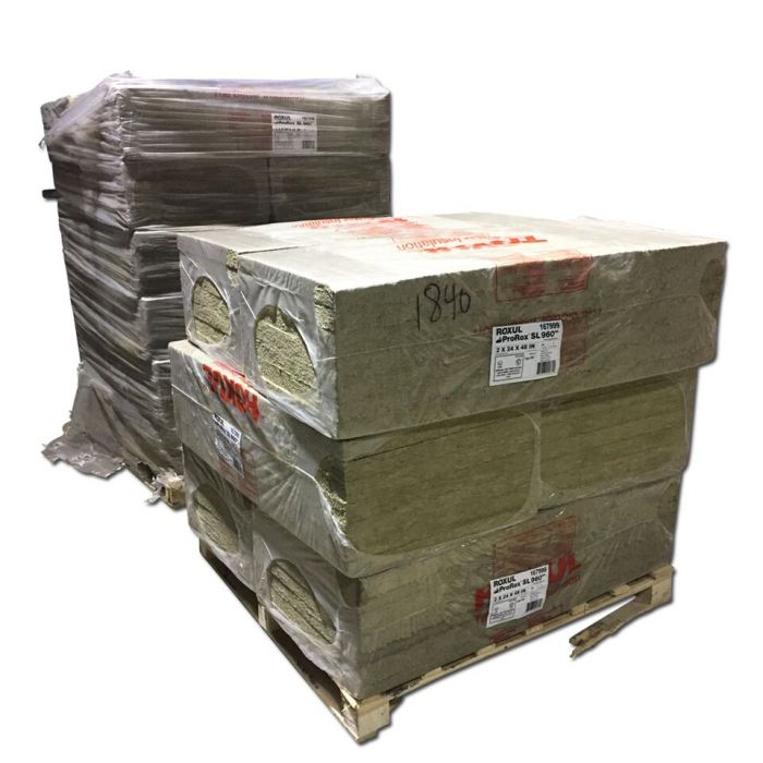 1 in. Thick Rock Wool BBQ smoker Insulation (mineral wool) 48
