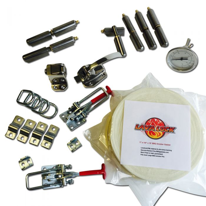 Complete SMALL Slam Latch Gravity Insulated Cabinet Parts Kit